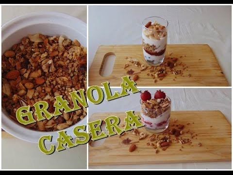 GRANOLA CASERA FITNES + 2 DESAYUNOS CON GRANOLA