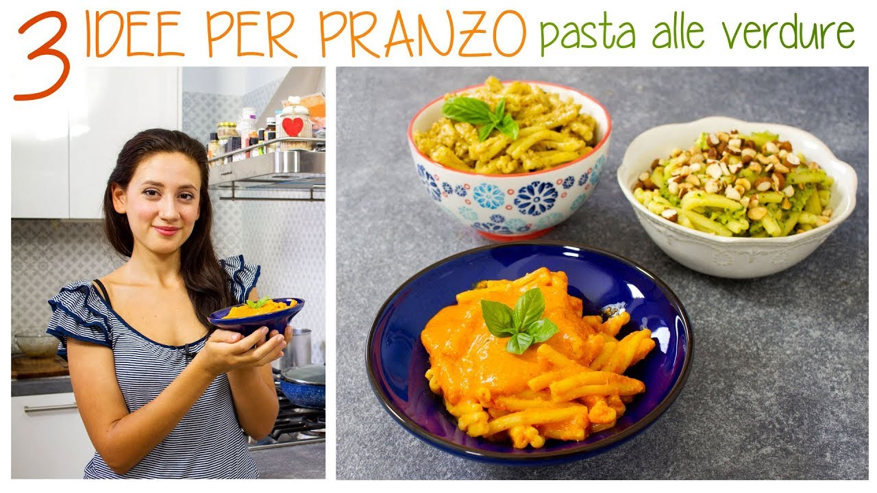 3 idee per la pasta ricette veloci e facilissime crema for Ricette facilissime