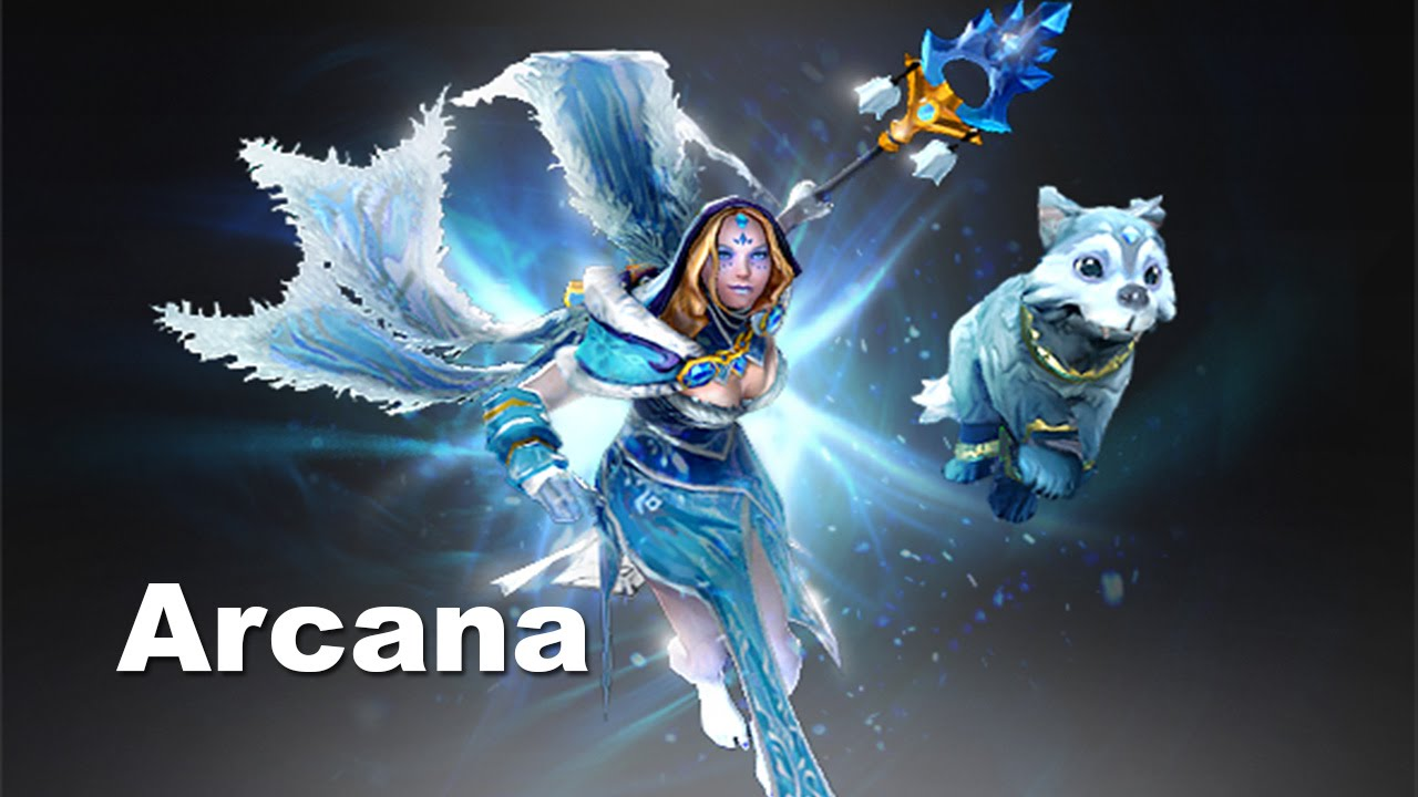 Crystal Maiden Arcana: Frost Avalanche Dota 2 - YouTube