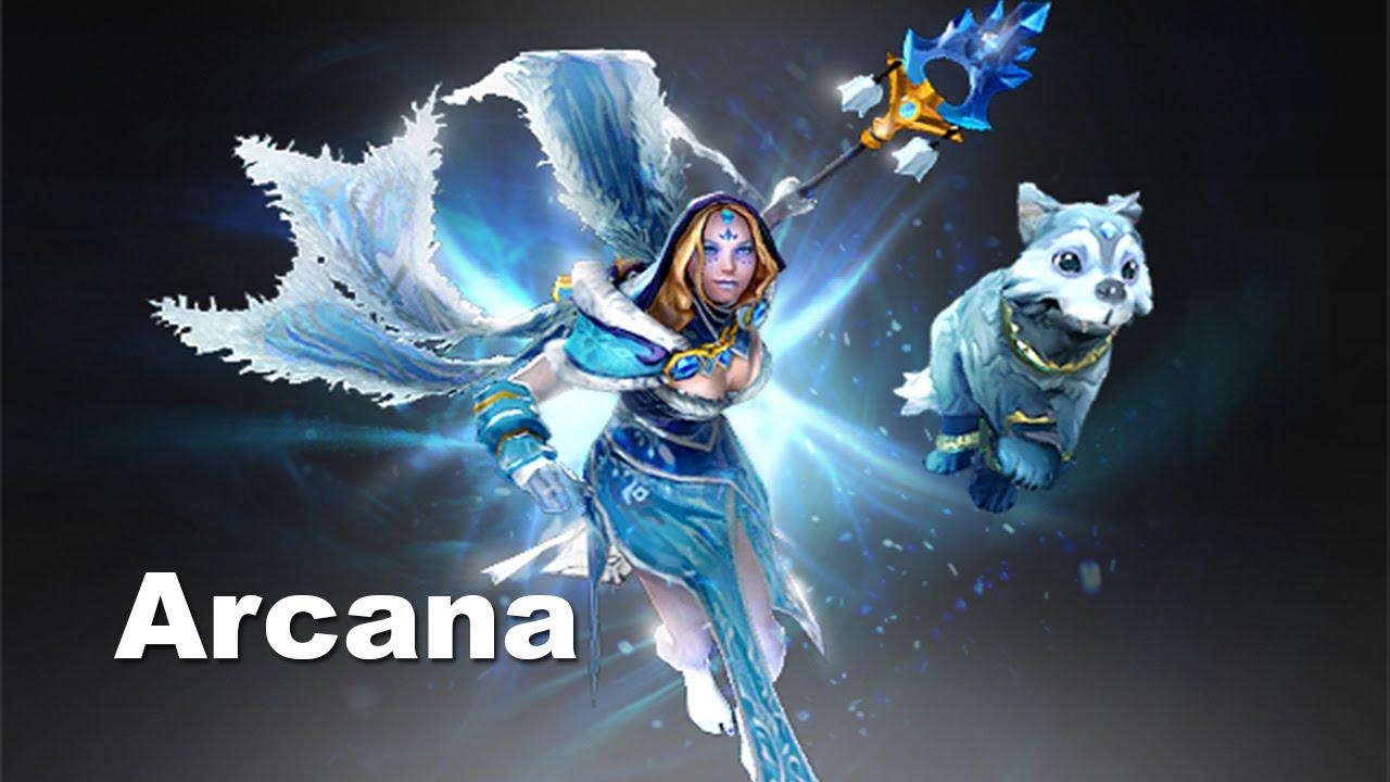 L Dogs Dota 2 Crystal Maiden Arcana:...