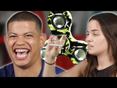 Thumbnail: High People Try Fidget Spinners