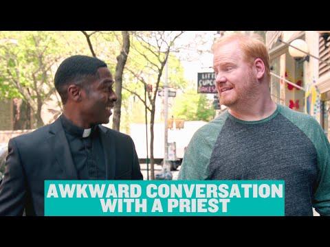 The Jim Gaffigan : Awkward Conversation With a Priest