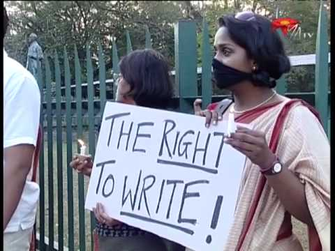 World Press Freedom Day 2010: Challenges for Sri Lanka's media - NWZ373a