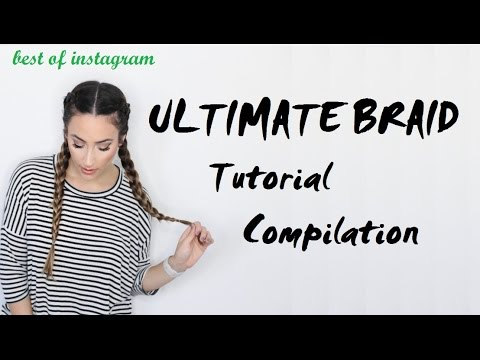 Ultimate Braid Tutorial Compilation | Best of Instagram