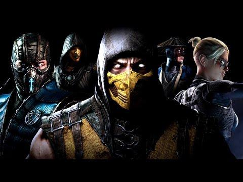 Mortal Kombat X 4K Game Movie (All Cutscenes) UltraHD