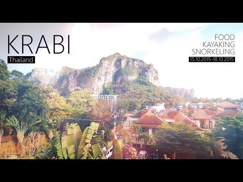 Krabi – Thailand [Food, Kayaking, Snorkeling] [HD]