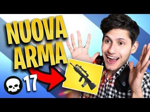 """VITTORIA INCREDIBILE con La Nuova Arma """"FAMAS"""" su FORTNITE"""