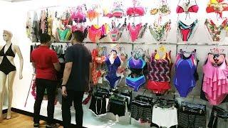 QISTAR china bikini swimwear factory video