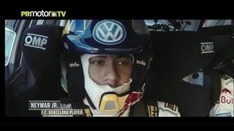 Neymar Jr. copiloto de Sébastien Ogier (VERSION COMPLETA) a bordo del VW Polo R WRC by PRMotor TV