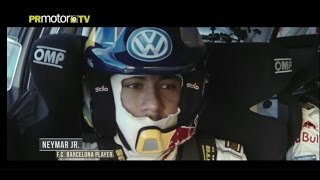Neymar Jr. copiloto de Sébastien Ogier (VERSION COMPLETA) a bordo del VW Polo R WRC by PRMotor TV