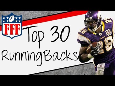 2015 Fantasy Football Top 30 Running Back Rankings - FFF