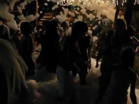 Карнавал и пенная вечеринка в кафе Оренбурга Затерянный рай