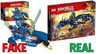 LEGO Ninjago Season 9 FAKE SETS vs REAL SETS! (Dragons)