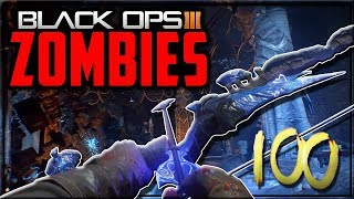 'DER EISENDRACHE' Round 100 Boss Fight Full Gameplay Strategy! - Black Ops 3 Zombies!