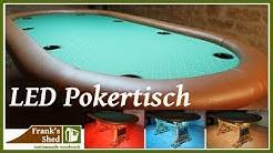DIY Pokertisch | LED Tisch selber bauen | Möbel selber bauen | Anleitung | 🔥 Franks Shed 🔥