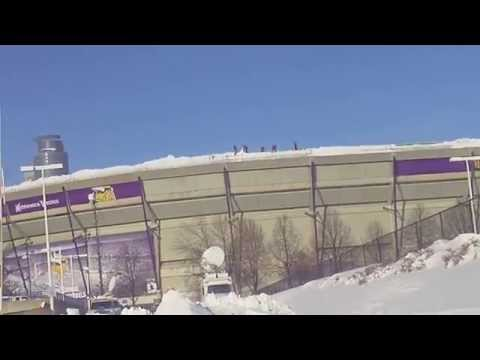 Alert ! Vikings Stadium Collapse Roof ! Vikings Game Canceled ! Metrodome Collapse