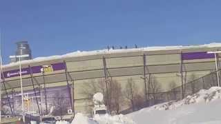 Alert ! Vikings Stadium Collapse Roof ! Vikings Game Canceled ! Metrodome Collapse