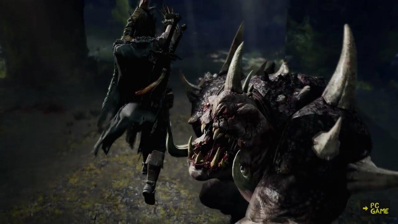 中土世界:魔多之影 Middle-earth Shadow of Mordor第7集大遊戲.尋找夥伴.巨型白色格拉格 - YouTube