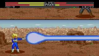 Dragon Ball Z - Sega Genesis - Modo Historia - Vegeta - Gameplay