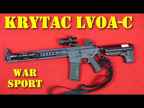 Airsoft - Krytac LVOA-C War Sport licence [French]
