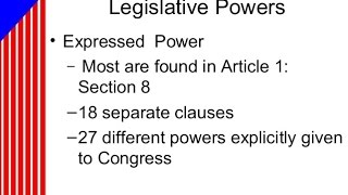 Article 1, Section 8