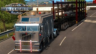 Huge Construction | Special Transportation | Kenworth K100 -American Truck Simulation