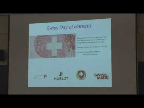Swiss Day @ Harvard: Why Switzerland is one of the most competitive countries