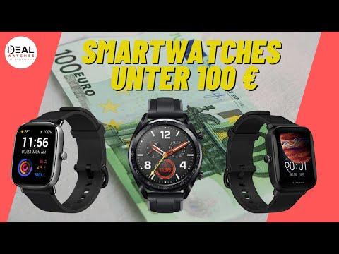 Die besten günstigen Smartwatches unter 100 Euro 💶 in 2021