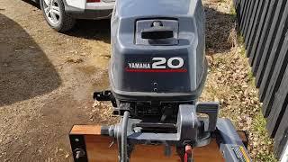 Yamaha 20 hp 2001