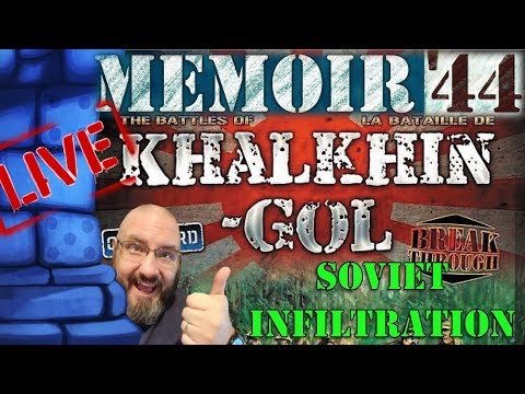 LIVE: Sam vs. The Internet (Memoir '44 Khalkhin-Gol Campaign