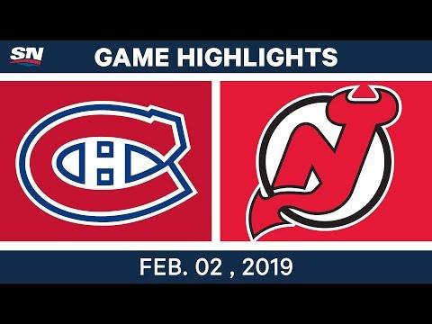 NHL Highlights   Devils vs. Canadiens - Feb. 2, 2019 Mp3