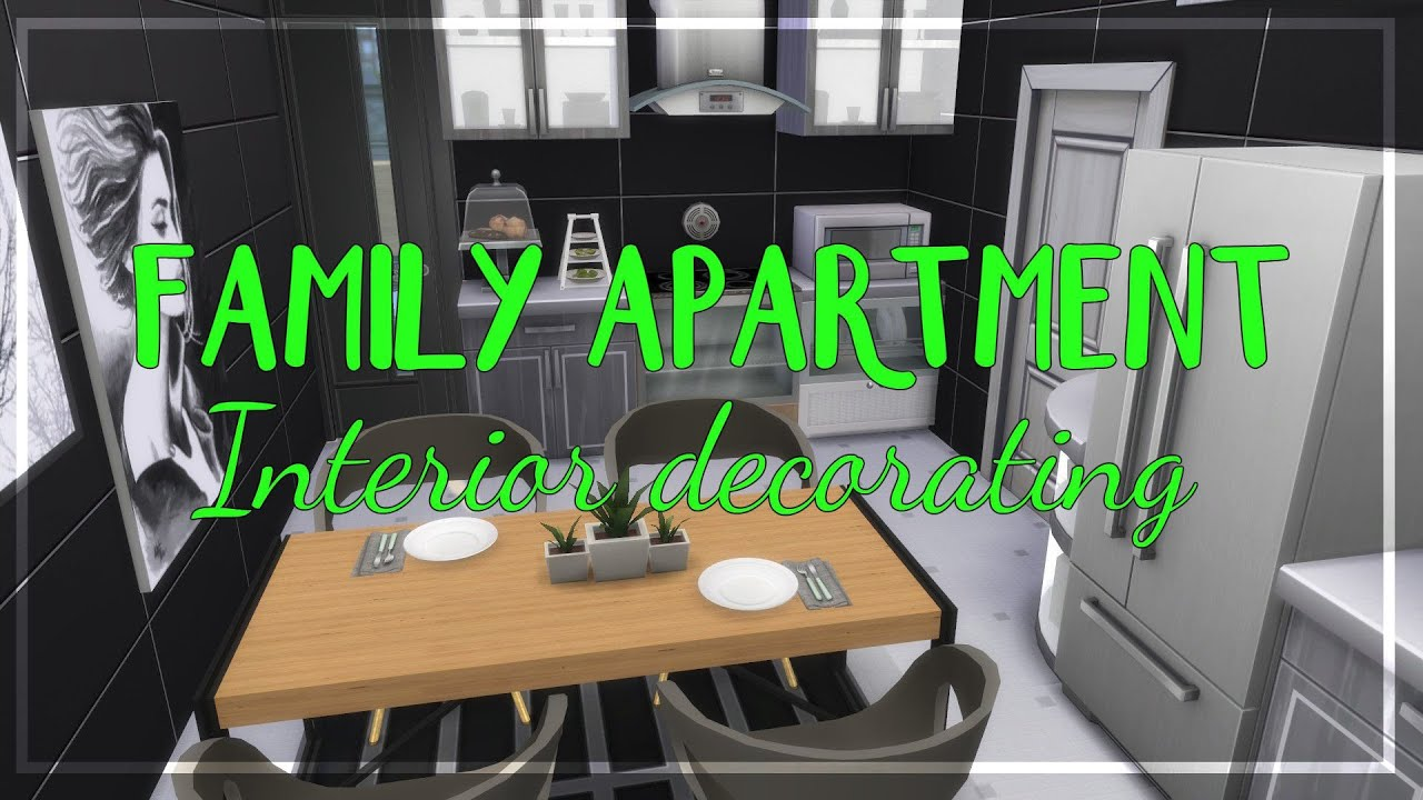 the sims 4 apartment building part 3 family apartment youtube