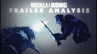 GODZILLA VS KONG 2021 || Trailer Footage IN-DEPTH Analysis! (Godzilla to attack other titans?)