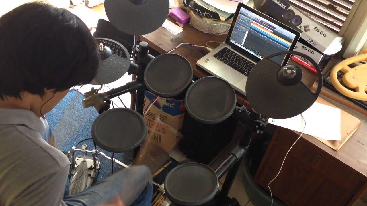 bendera cokelat drum cover by irman youtube