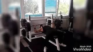 Bench press 110 KG 10X