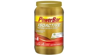 PowerBar ISOACTIVE Energizing Sports Drink 1320g Red Fruit Punch