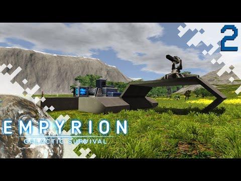 EMPYRION: GALACTIC SURVIVAL - EP02 - Base Building!