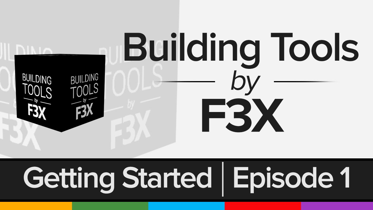 Best F3x Building Games On Roblox Getting Started Building Tools By F3x Youtube