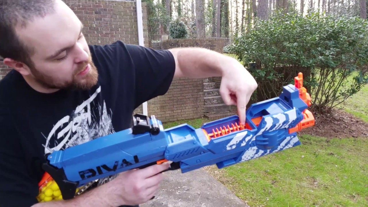 nerf rival nemesis first impression clip fail