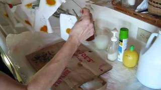 REMOVE TURMERIC STAINS VIDEO - THE EXPERIMENT