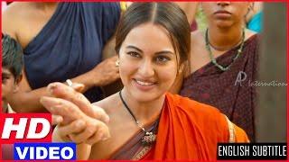 Lingaa Tamil Movie - Sonakshi Sinha Scenes Compilation | Rajinikanth | Sonakshi SInha