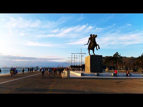 Visit Greece Thessaloniki's Waterfront 4K (UHD). Θεσσαλονίκη Νέα Παραλία.