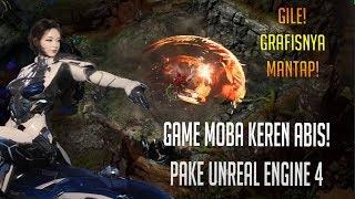 Mantap Abis Nih Game MOBA Pake Unreal Engine 4 - Ascendant One
