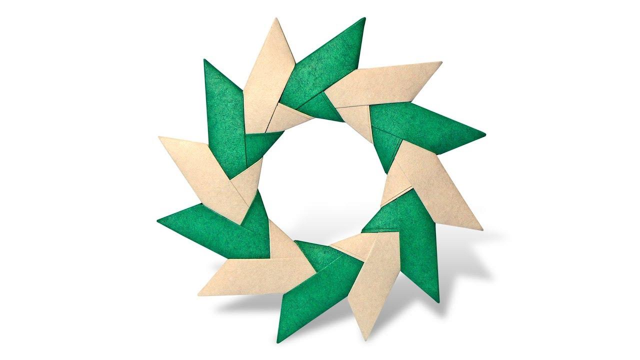 origami chakra wheel ancella simoes youtube