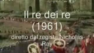 """Il nome di GEOVA nel film """"Il re dei re""""  di Nicholas Ray del 1961"""