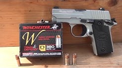 Winchester 380 Train & Defend ballistic gel test