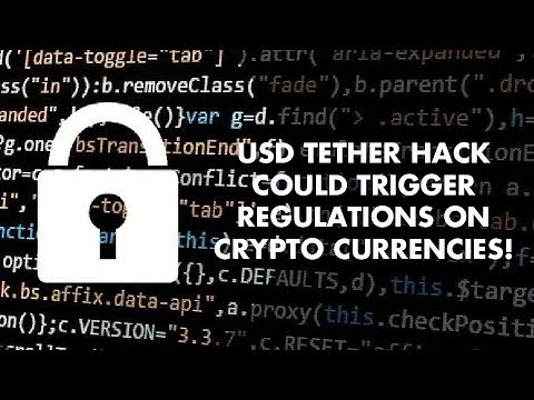 USD Tether Hack Could Trigger Regulations On Crypto Currencies! - Ryan Charleston Interview