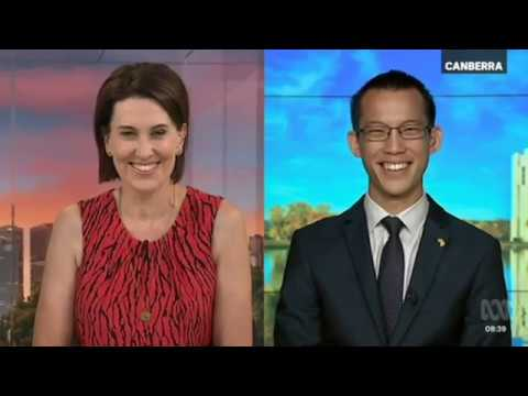 Eddie Woo on Australia Day ABC News Breakfast