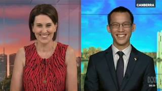 Eddie Woo on Australia Day (ABC News Breakfast)