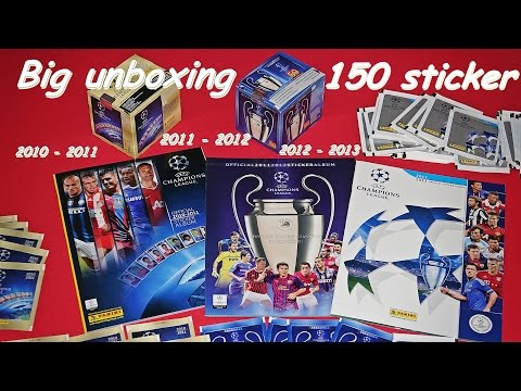 PANINI Sticker Album Champions League  opening new  Panini Sticker